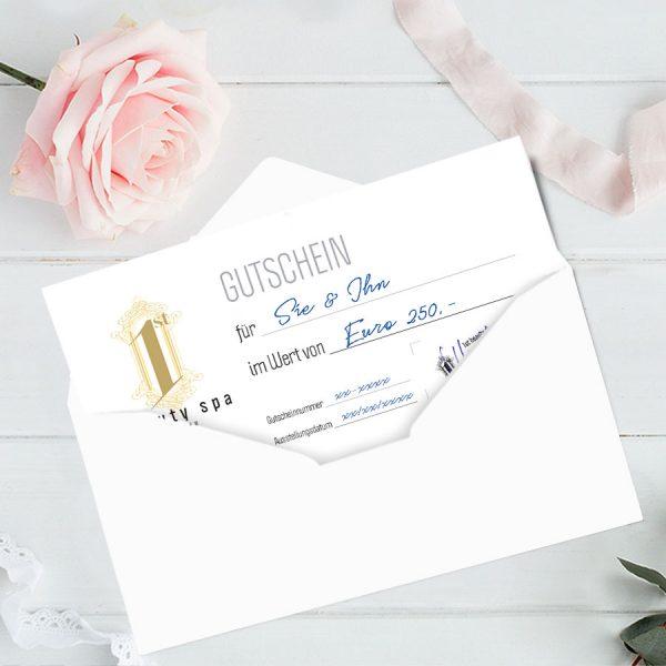 1st Beauty SPA Gutschein Euro 250,-